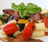 Ριγκατόνι με ψητά λαχανικά