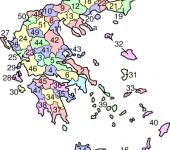 Οι νομοί της Ελλάδας