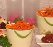 Σαλάτα γαρίδας και λάχανο