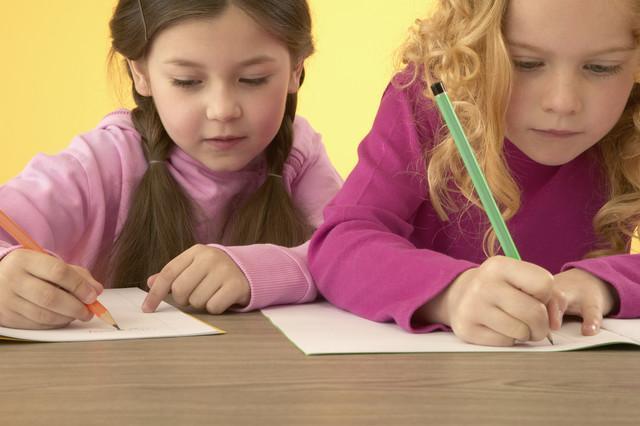 cute-kids-writing
