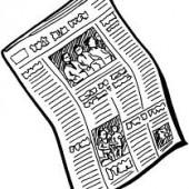 εφημερίδα σκίτσο