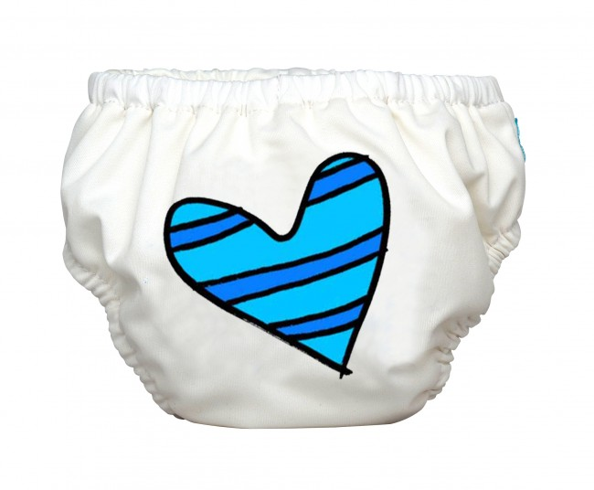 swim diaper_white-blue beart