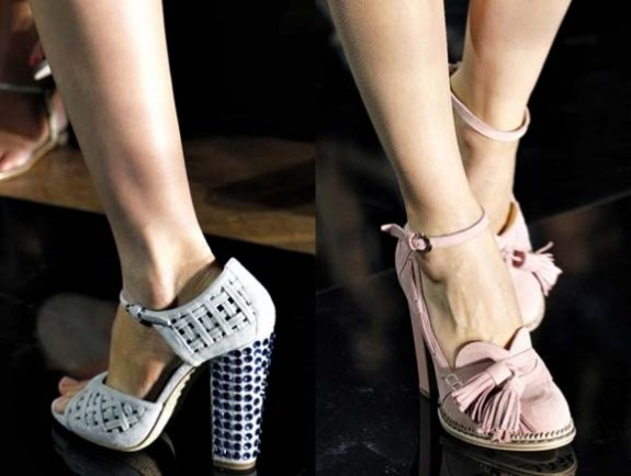Модные сапоги, весна-2012