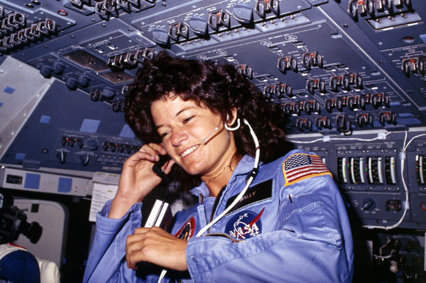 Sally-Ride-On-Board-Space-Shuttle-Challenger
