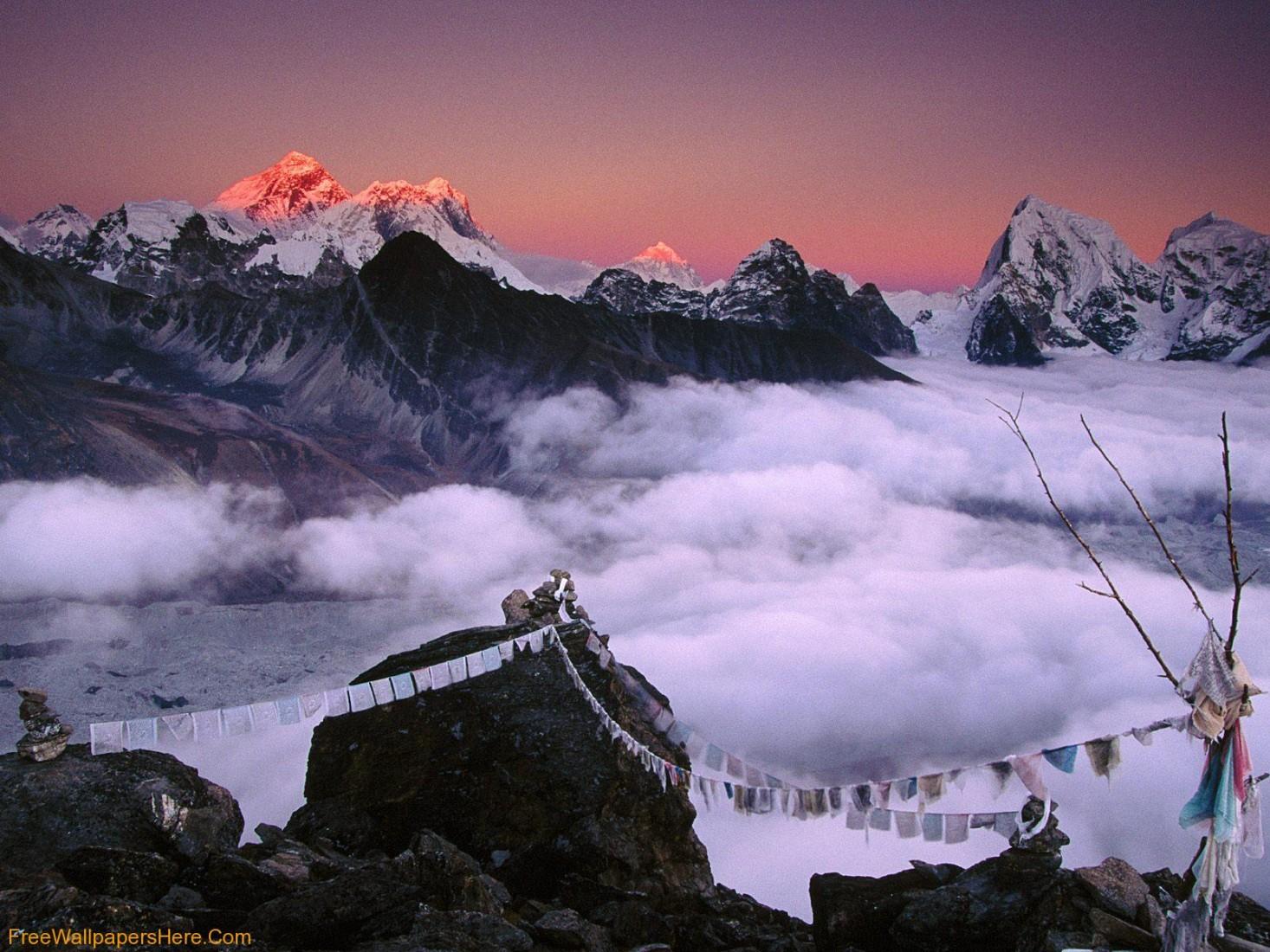 Everest Mountain Pics