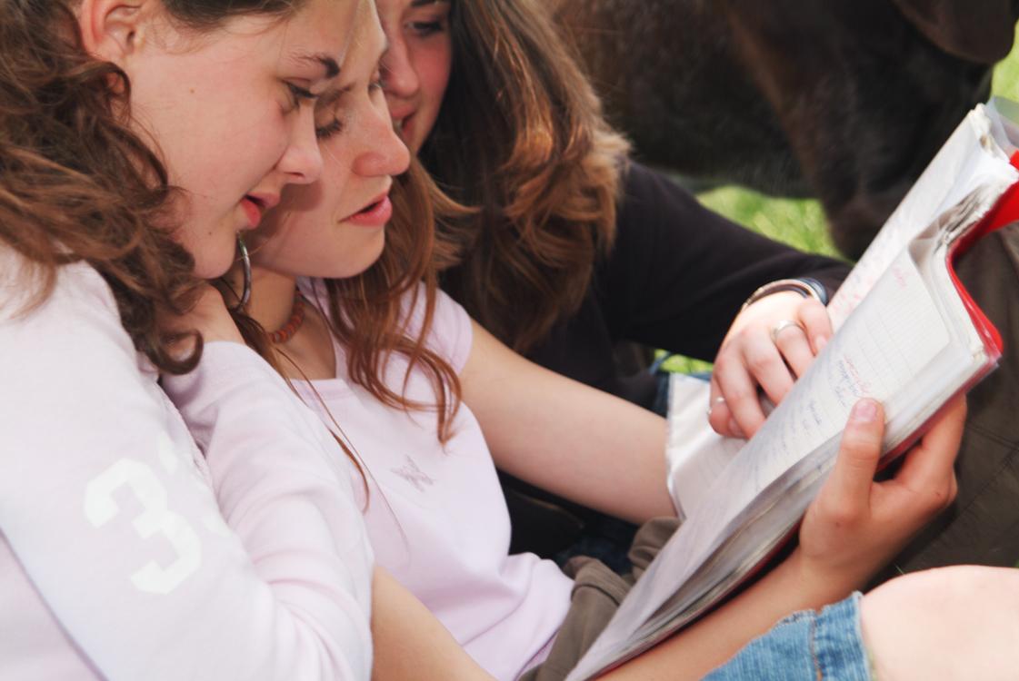 friends-reading