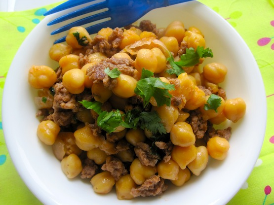 Chickpeas-with-Ground-Meat