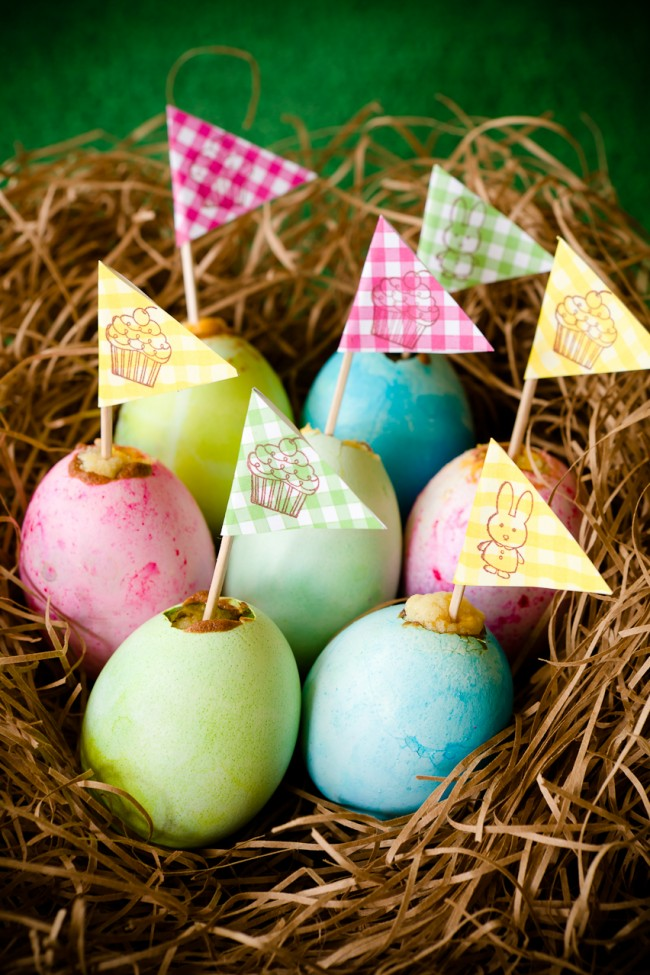 Easter Egg Cupcakes 10