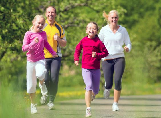 family-exercise-juicebar