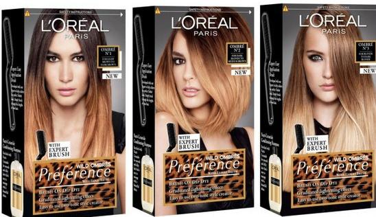 three-lOreal-ombre-kits
