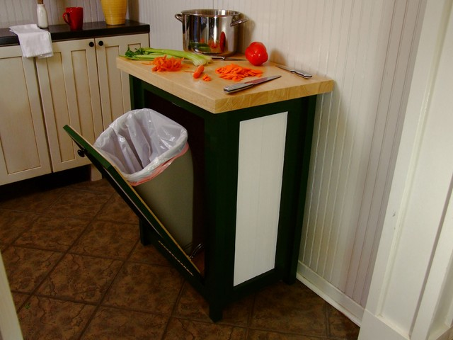 eclectic-kitchen-trash-cans
