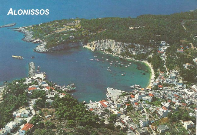 Greece Alonissos postcard