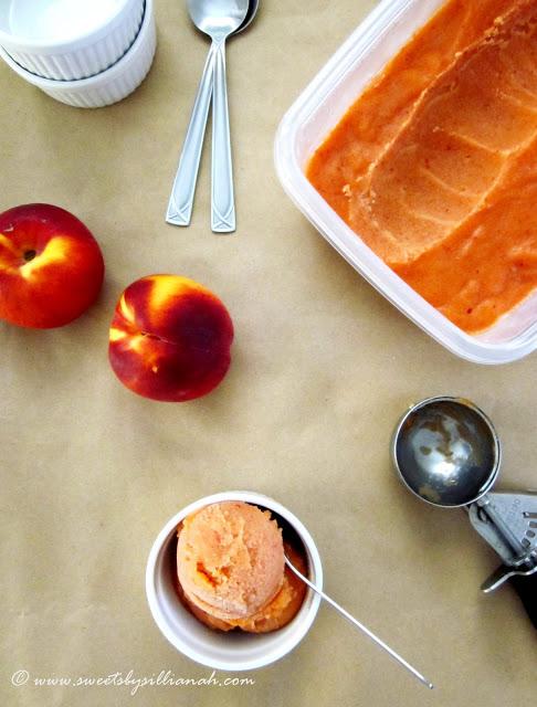 Peach-Sorbet