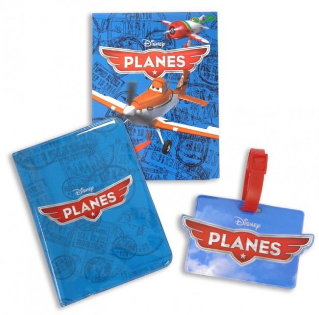 luggage tag & passport cover with packing box a
