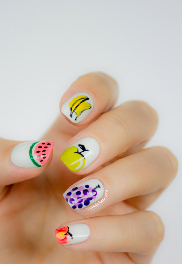 pretty-banana-summer-nails