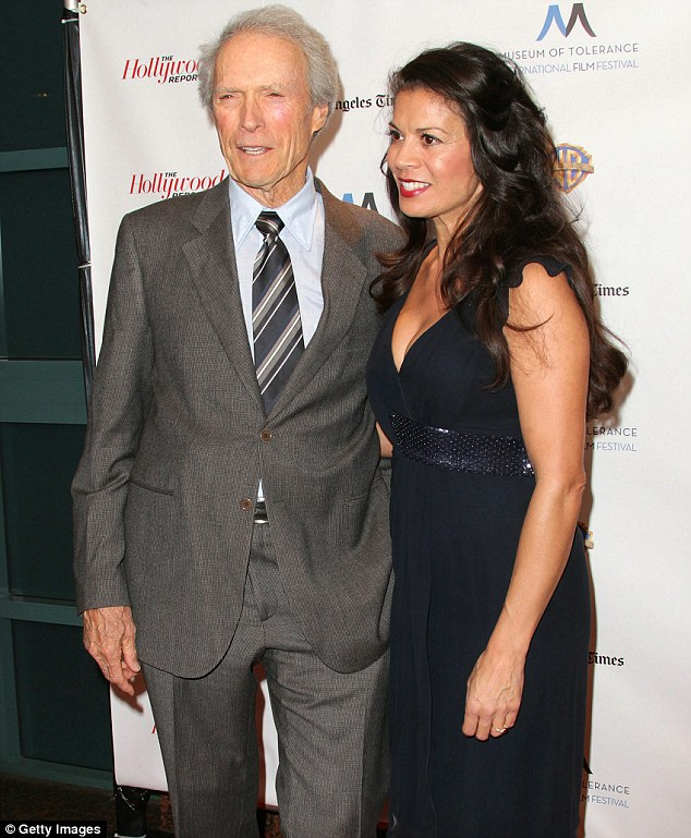 Clint-Eastwood-with-wife-Dina