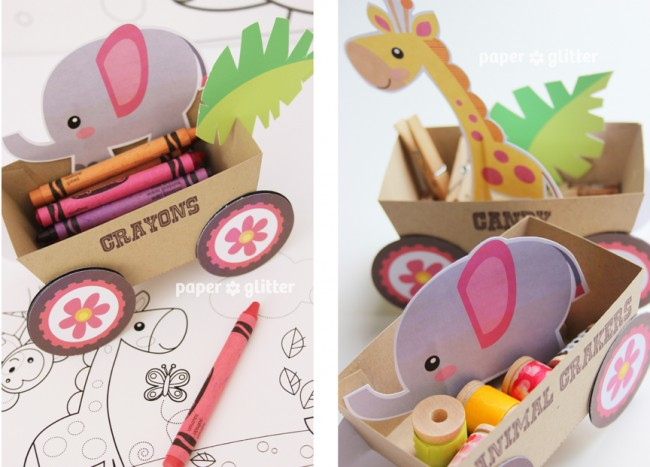 14_printable+party+decoration+animal+jungle+safari+train+kawaii+cute+craft+paper+idea+children+kids+favor+box+craft+paper+