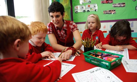 A primary school teacher
