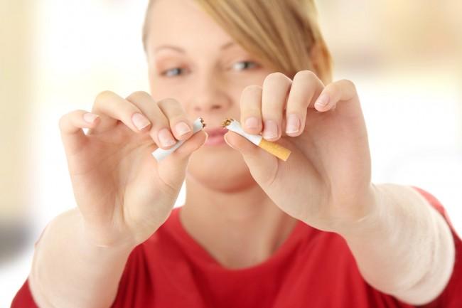 Woman-quitting-smoking