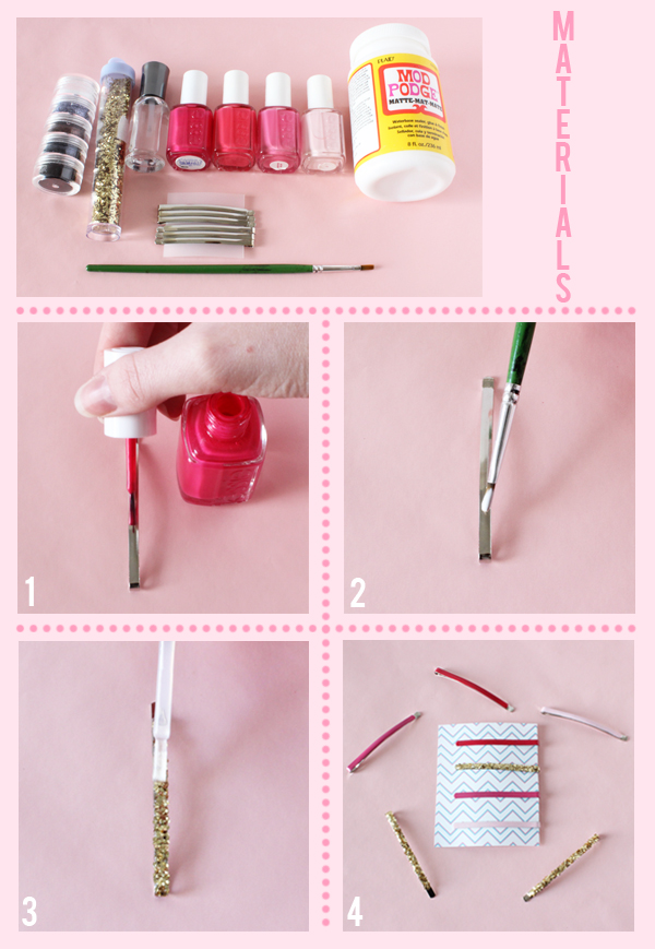 diy-glitter-and-pink-hair-clips-4