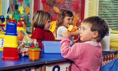 Children in Nursery Class