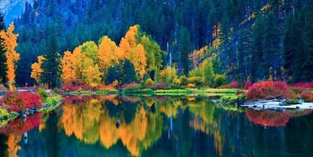 Λίμνη Jolanda, ποταμός Wenatchee, Chelan County