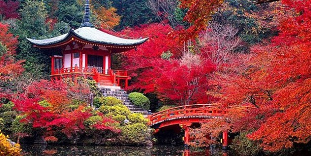 Ναός Daigo-ji Κιότο, Ιαπωνία