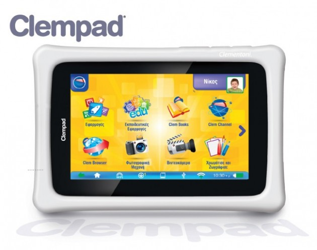 Clempad-Greek-Interface