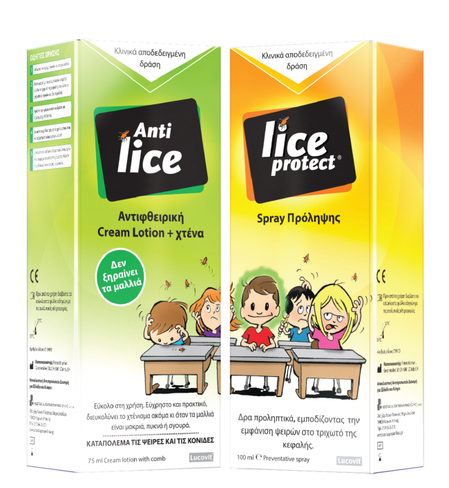 Lice-packs