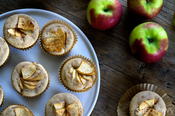 SheKnows-Apple-Cider-Muffins-overhead