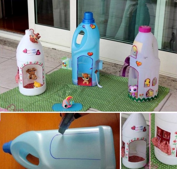 doll-houses-from-plastic-containers