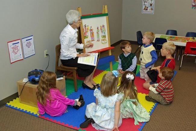 Children's Bible Class 1