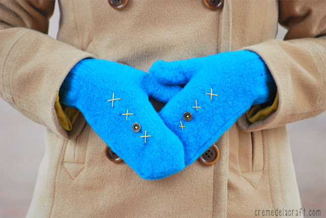 DIY-Mittens-Wool-Sweaters-Winter-Craft-Projects-Fashion