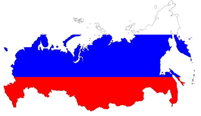 russian-flag-map