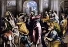 El Greco Δομήνικος Θεοτοκόπουλος-The Purification of the Temple(Η εκδίωξη από το Ναό