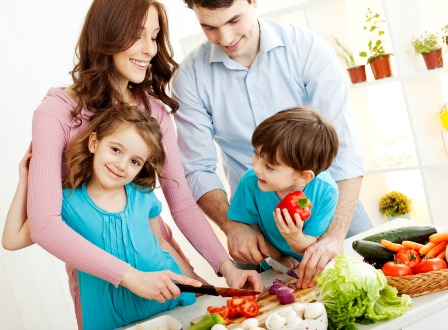 family-meal-preparation