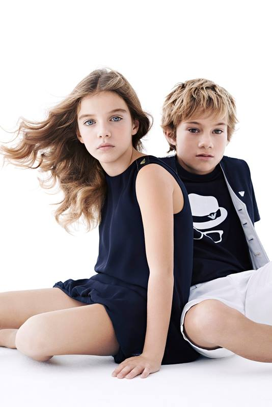 GENIKO  Emporio-Armani-Summer-Spring-Kids-Fashion-Dresses-Outfits-Collection-2014-2015-7