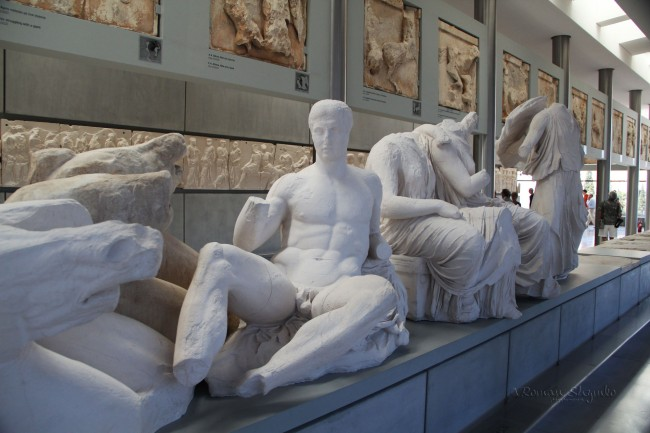 Statues-in-Acropolis-museum