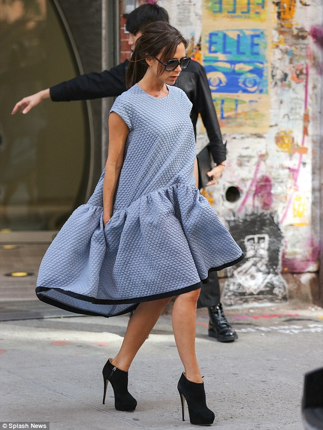 Victoria-Beckham-billowy-tent-dress