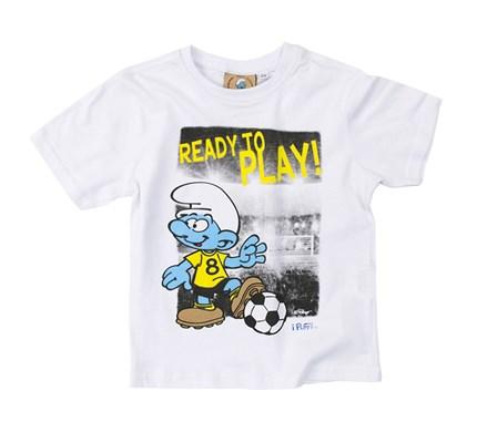 53790f0a91f Μπλουζάκι για κορίτσια με πουά λεπτομέρειες, σε έντονο, φωτεινό χρώμα, από  τα παιδικά ρούχα DPAM. Αποκτήστε το απ' το www.dpam.gr από 14,95 ευρώ:
