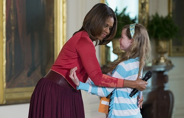 Michelle Obama, Charlotte Bell