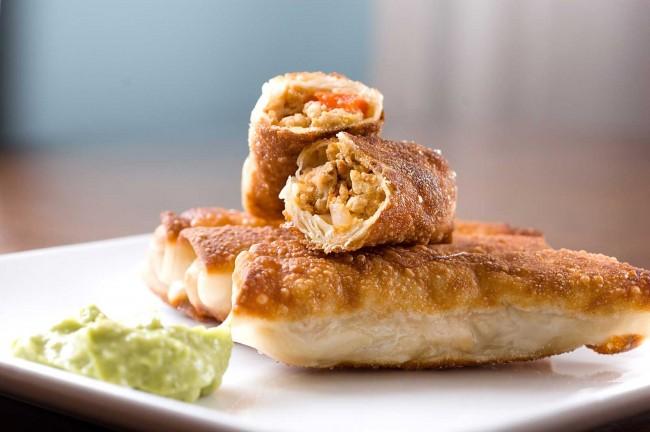 chipotle-chicken-egg-rolls