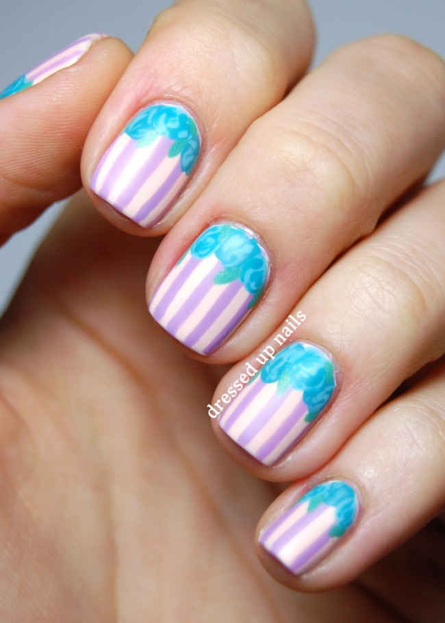 matte-stripes-roses-spring-easter-nail-art-1