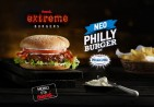 Extreme Philly Burger