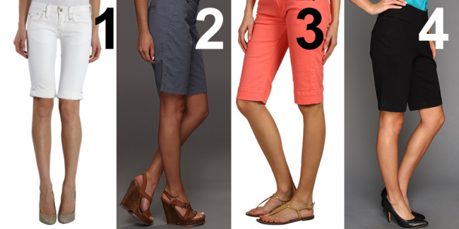 shoes-bermuda-shorts-women