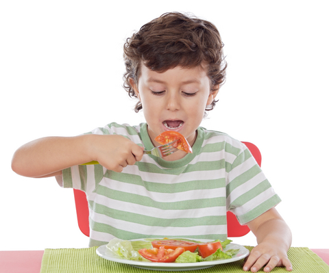 kid-eating-salad