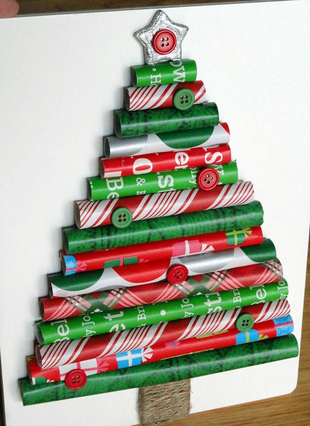 χριστουγεννιάτικο δέντρο από χαρτί