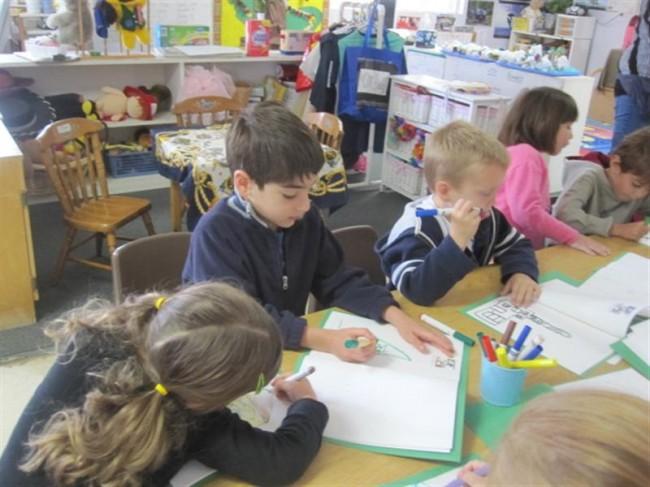 CV-Preschool-PreK-children-writing