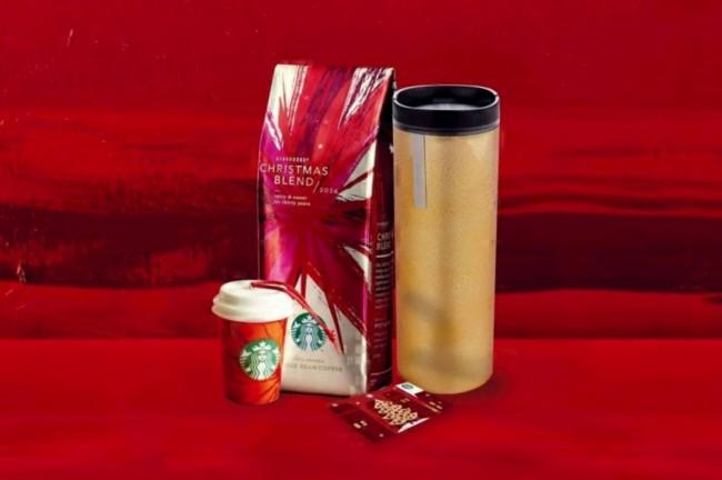 Starbucks Χριστουγεννιάτικα Δώρα 2014