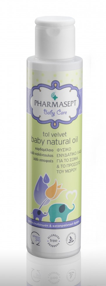 TOL VELVET Baby Natural Oil 125ml